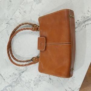 PATRICIA NASH brown leather purse, EXCELLENT condition